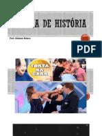 Quiz de  História sobre século XX