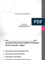 Examen de Ludología II