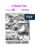 Solar Car Racing Booklet 1999