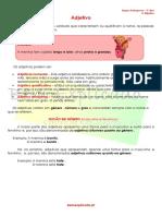 1.7 Ficha Informativa - Adjetivo