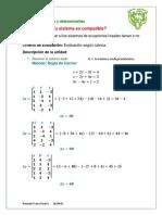 Alegebra para Ingeniería 3.1  Fime