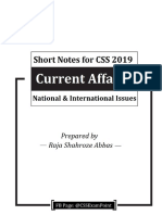 CA 2019 Short Notes (Raja Shahroze Abbas)