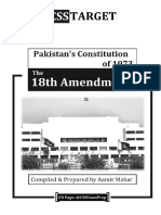 The 18th Constitutional Amendment