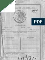 Caso Luis Donaldo Colosio  Tomo I