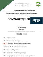 Chapitre3 Champ Et Potentiel Electrostatiques