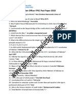 Appraising Valuation Officer FPSC Past Paper 2018 in PDF.pdf