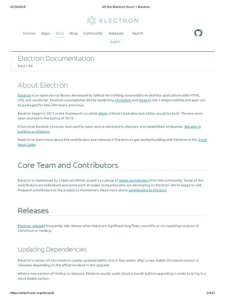All the Electron Docs! _ Electron | Mac Os | Computer File