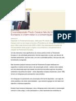 Discurso Directo Paulo Casaca