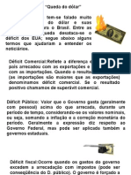Geografia PPT - Queda do Dólar