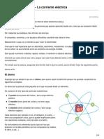 Electrónica Básica 1-El Atomo y La Corriente Electrica