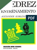 Ajedrez de entrenamiento - Alexander Koblenz-LibrosVirtual.pdf