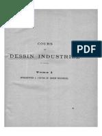 Course de Dessin Industriel Tome I