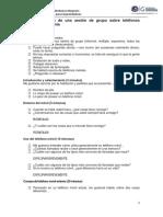 Guía de Análisis de Una Sesión de Grupo Sobre Teléfonos Móviles de Telefonía