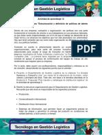 Evidencia 5 Propuesta Estructuracion y Definicion de Politicas de Talento Humano