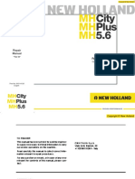 New Holland MH City-Plus-5.6 Rpair Manual