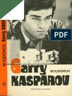 Yudovich, M - Garry Kasparov (Con Hojas 22 y 23 - Gardesa)