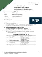Minit Mesyuarat Panitia Bahasa Melayu Bil 3 2015