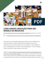 Lean Canvas_ Inovação Para Seu Modelo de Negócios _ Ação Júnior