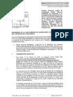 Denuncia Constitucional de Nuevo Perú contra Héctor Becerril