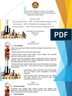 Contoh Powerpoint LKTI WTC (WASTE TREATMENT COMPETITION) dari Universitas Musamus Merauke