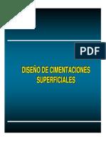 Diseño de Cimentaciones Superficiales