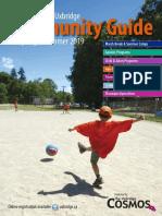 2019 Spring Summer Community Guide