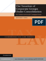 International Tax as International Law an Analysis of the International Tax Regime Cambridge Tax Law Series