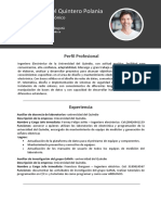 Plantilla CV 1 Gratis InfoJobs
