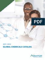 Avantor Global Chemicals Catalog