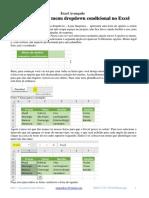4.Como Fazer Um Menu Dropdown Condicional No Excel