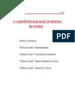5 Componentes Sistemas de Control