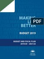 B.C. Budget 2019