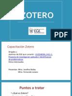 Capacitación de Zotero (12-2013)