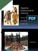 Aspectos históricos de la violencia