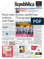 La Repubblica - 11.11.2014