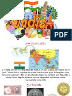 Índia -Apresentação Trabalho