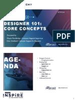 Designer 101 Core Concepts