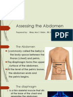 Assessing the Abdomen