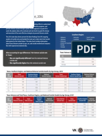Texas Veteran Suicide Data Sheet, 2016