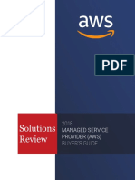 AWS Managed Service Provider Buyer's Guide