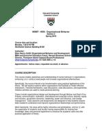 Syllabus Final Ob Mgmt-4000-Spring 2019
