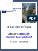 Cap. N1 Introduccion y Descripcion de Ingenieria Geotecnica
