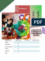 09 Pre-olimpiada Del Conocimiento Infantil 2017-2018 PDF