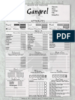 MET VTM 1-PageSheet Gangrel Interactive
