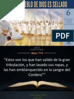 Lecc. 6 -El Pueblo de Dios Es Sellado