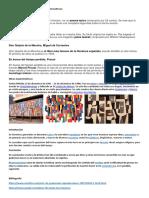 Obras Artísticas de Extranjeros y Guatemaltecos