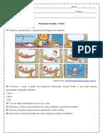 Producao de Texto Conto a Partir de Sequencia de Imagens Do Garfield 6º Ano Word
