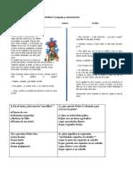 Evaluacion Lenguaje Unidad 4