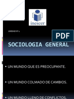 Sociologia General - Unidad i 2018
