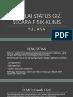 Menilai Status Gizi Secara Klinis
